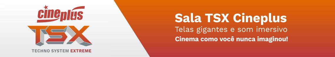 Cineplus Cinemas - TSX Tela gigante